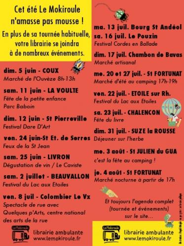 Le Mokiroule librairie ambulante, librairie itinérante, librairie jeunesse, Ardèche, Drôme, livre, mot, qui, roule